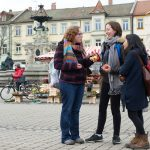 Kalamazoo College students study abroad in places such as Erlangen, Germany