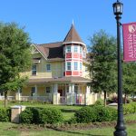Austin College campus historic homes