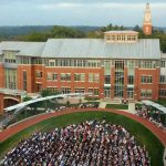 Denison University celebrates convocation outside