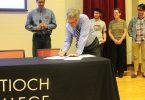 Antioch Pledge Signing